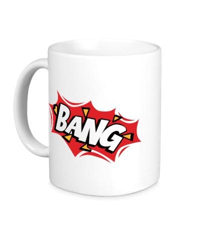 Керамическая кружка Bang