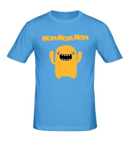 Мужская футболка Nom nom nom