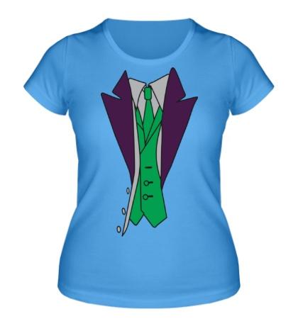 Женская футболка Костюм джокера