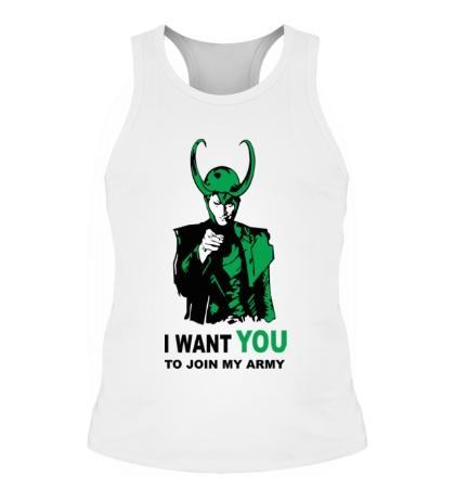 Мужская борцовка Loki: Join my army