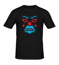 Мужская футболка Маска клоуна