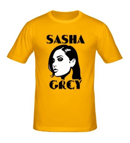 Мужская футболка Sasha Grey