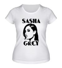 Женская футболка Sasha Grey