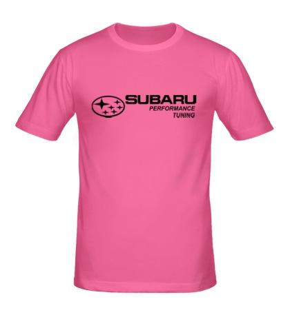 Мужская футболка Subaru Perfomance Tuning