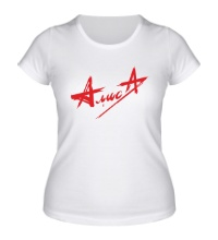 Женская футболка АлисА