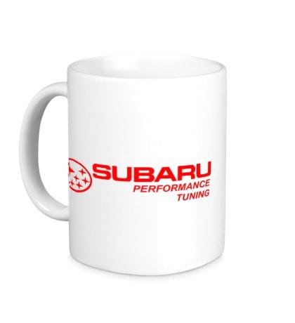 Керамическая кружка Subaru Perfomance Tuning