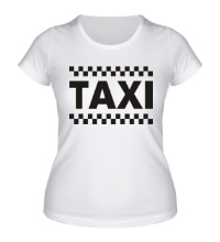 Женская футболка Taxi