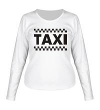 Женский лонгслив Taxi