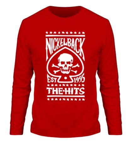 Мужской лонгслив Nickelback: The Hits