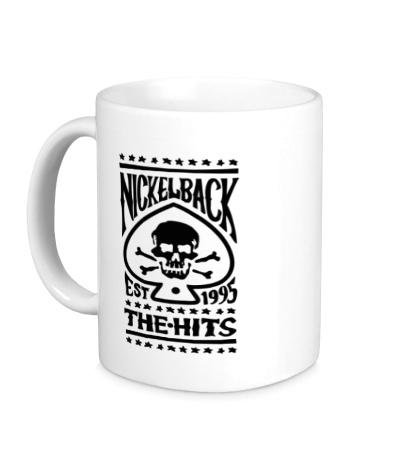 Керамическая кружка Nickelback: The Hits