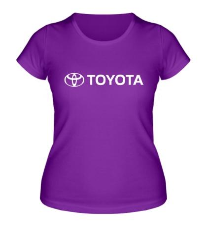 Женская футболка Toyota Line