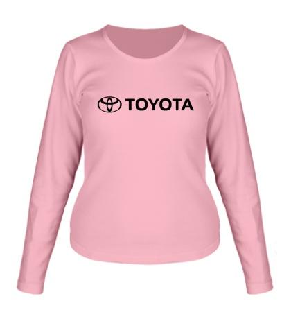 Женский лонгслив Toyota Line