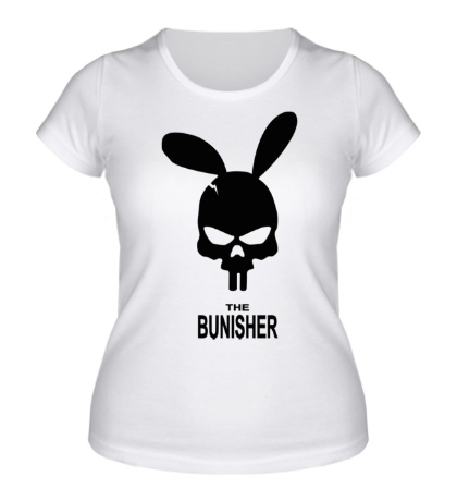 Женская футболка The bunisher