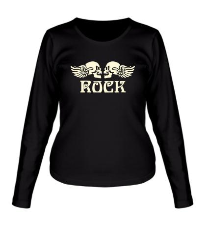 Женский лонгслив Death Rock