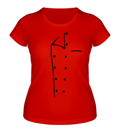 Женская футболка Медицинский халат