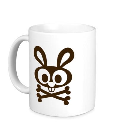 Керамическая кружка Пиратский кролик