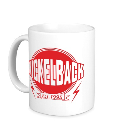 Керамическая кружка Nickelback Est. 1995