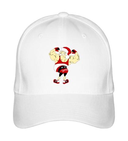 Бейсболка Санта бодибилдер