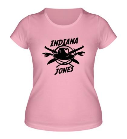 Женская футболка Indiana Jones