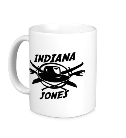Керамическая кружка Indiana Jones