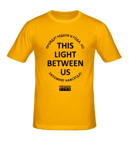 Мужская футболка This light between us