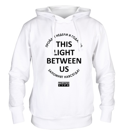 Толстовка с капюшоном This light between us