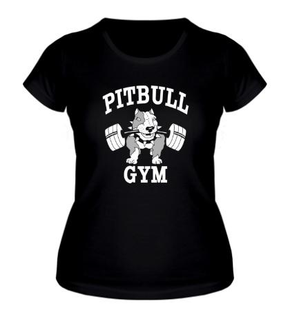 Женская футболка Pitbull GYM Dark