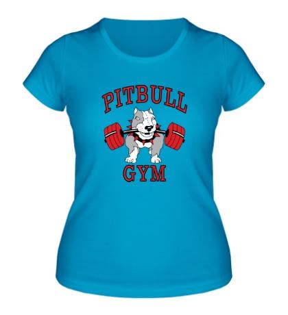 Женская футболка Pitbull gym