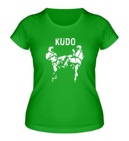 Женская футболка Kudo