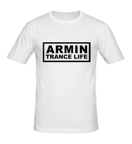 Мужская футболка Armin trance life