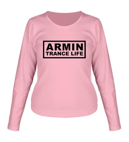Женский лонгслив Armin trance life