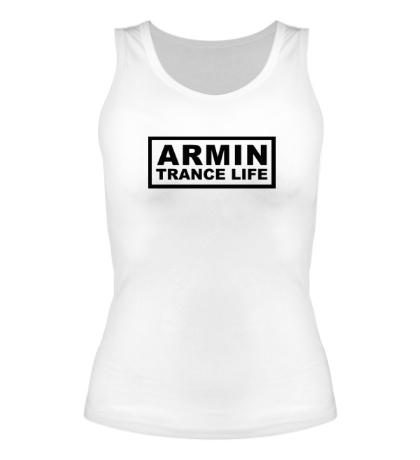 Женская майка Armin trance life