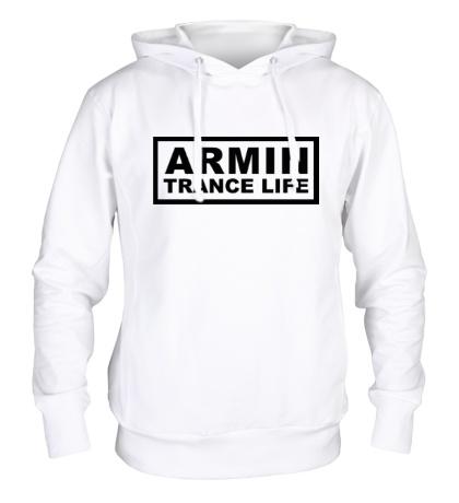 Толстовка с капюшоном Armin trance life