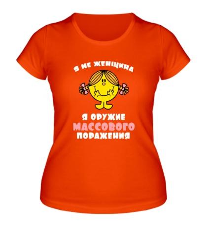 Женская футболка Я не женщина