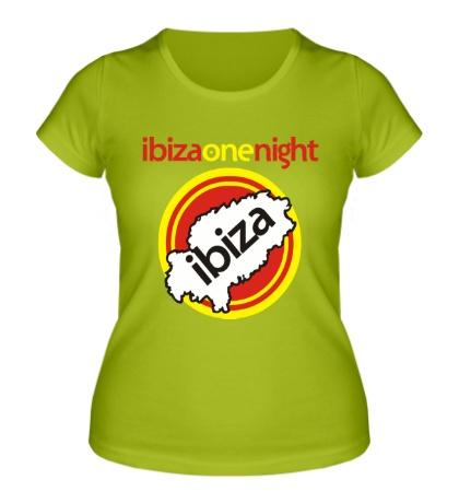 Женская футболка Ibiza One Night
