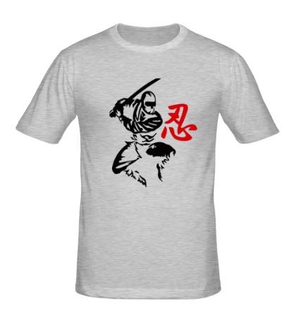 Мужская футболка Ниндзя