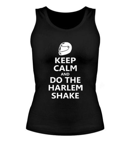 Женская майка Do the harlem shake