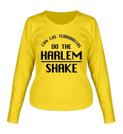 Женский лонгслив Harlem shake