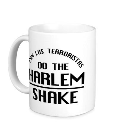 Керамическая кружка Harlem shake
