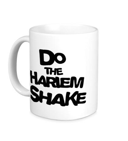 Керамическая кружка Do the harlem shake