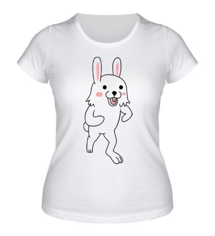Женская футболка Педозайка