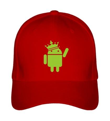 Бейсболка Андроид король