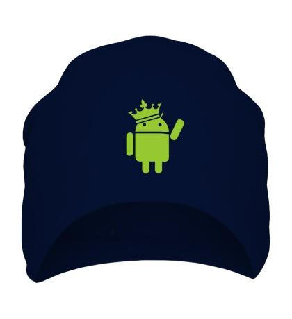 Шапка Андроид король