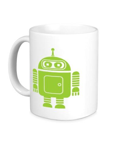 Керамическая кружка Андроид-бендер