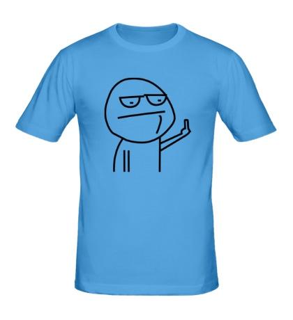 Мужская футболка Иди нафиг