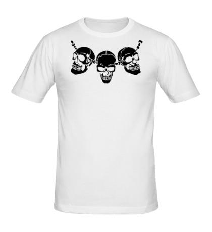 Мужская футболка Амулет из черепов