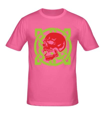 Мужская футболка Кельтский череп