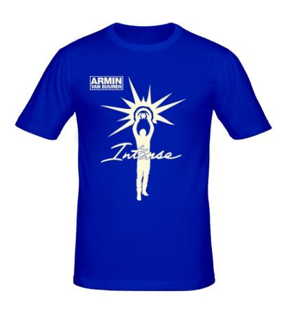 Мужская футболка Armin van Buuren: Intense Glow