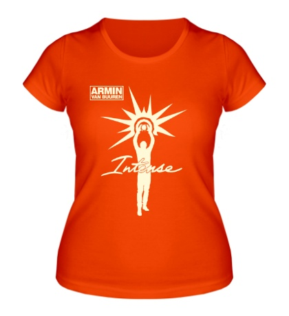 Женская футболка Armin van Buuren: Intense Glow