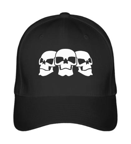 Бейсболка Три черепа